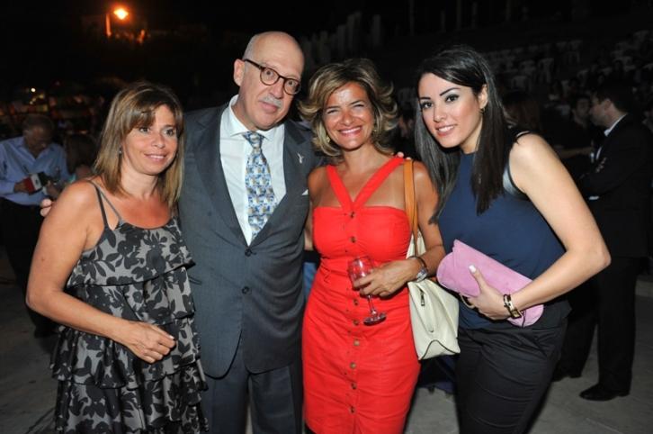Paola Irani Majdalani, HE Mexican Ambassador Jorge Alvarez, Joelle Abou Farhat Rizkallah and Elle Fersan