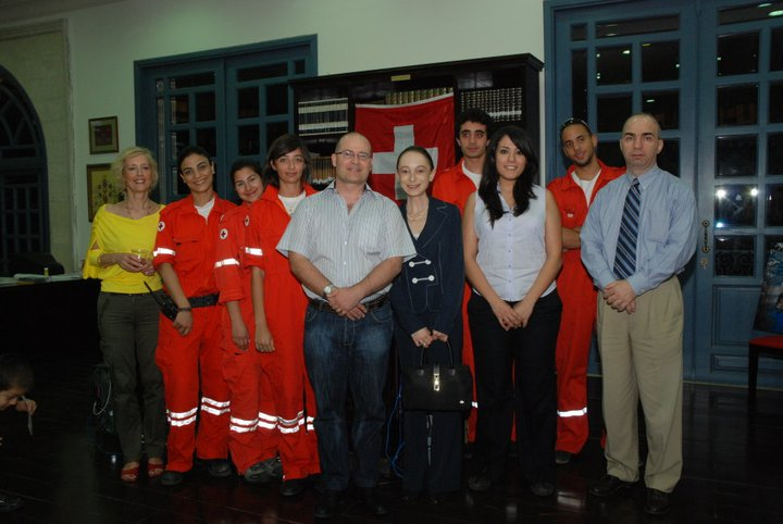 At the Red Cross day in 2010