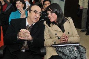 Elias Rahbani and Elle Fersan