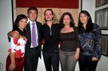 Raya Haddad, HE Spanish Ambassador Juan Carlos Gafo, Josele Miranda, Fadia Yared and Elle Fersan