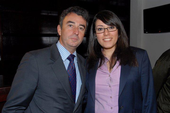 HE Spanish Ambassador Juan Carlos Gafo and Elle Fersan