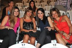 Nathalie Nercessian, Paola Irani Majdalani, Elle Fersan and Joelle Abou Farhat Rizkallah
