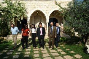 Elle Fersan, Cynthia Abou Jaoude, HE Romanian Ambassador Daniel Tanase, Zouk Mikael Mayor Nouhad Naufal