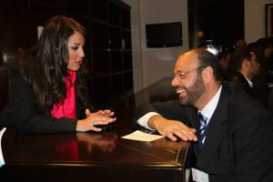 Elle Fersan and Actor Ziad Said
