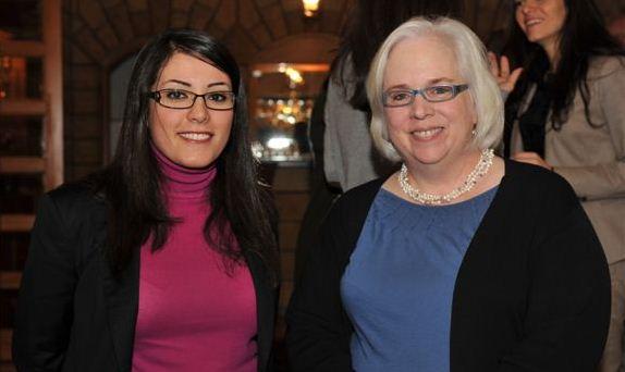 Elle Fersan and Ambassador Maura Connelly