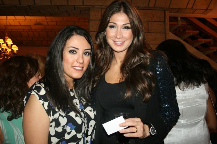 Elle Fersan and Anchor Dima Sadek