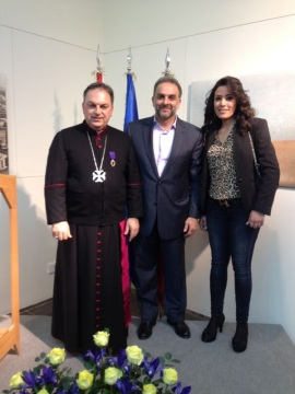 H.E. Bishop Paul Marwan Tabet, Ziad Abdel Ahad, Elle Fersan