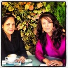 Khadijah Lakkis and Elle Fersan
