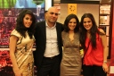 Elle Fersan, Ismail Farhat, Marina Chamma, Zeina El Khoury at the Social Media Awards Ceremony Red Carpet