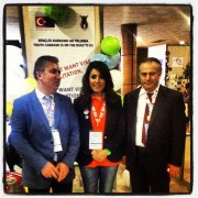 With the Turkish delegation at the ALF Forum, Marseille 2013