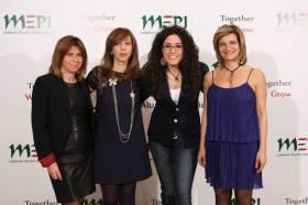 Elle Fersan and Women in Front Paola Majdalani, Nada Anid, Joelle Abou Farhat