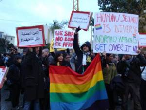 LGBT-protest