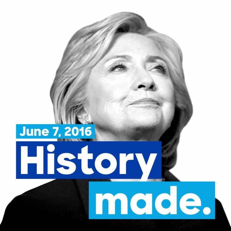 Hillary-Historic-moment